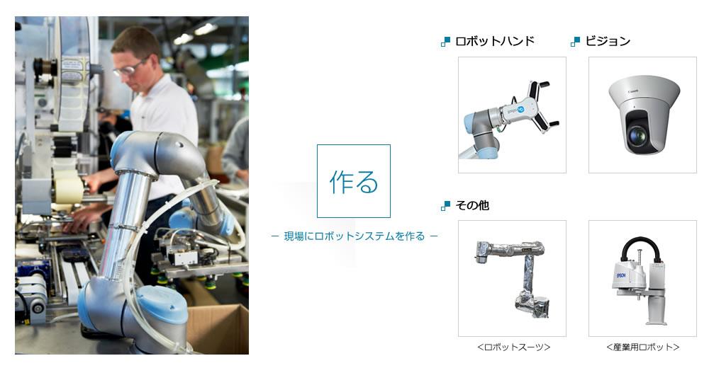 現場にロボットシステムを作る