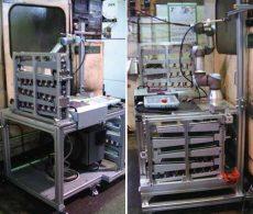 協働ロボット事例:ワーク供給・排出