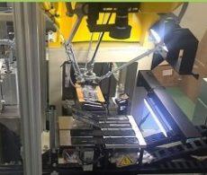 事例:高速組み付け装置: パラレルリンクロボット